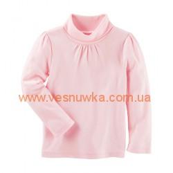 Водолазка «Нежность» OshKosh розового цвета, , 1001003, OSHKOSH, Регланы, туники