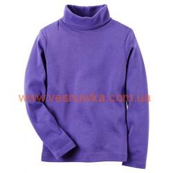 Водолазка «Веселое настроение» Carters фиолетового цвета, , 1001004, CARTERS, Регланы, туники