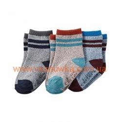 """Набор из трех пар носков  Carters """"Классика"""", , 1021024, CARTERS, Нижнее белье, носочки, колготы"""