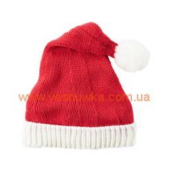 Новогодняя шапочка «Маленький Санта» Carters , , 10410430, CARTERS, Шапочки, варежки, царапки