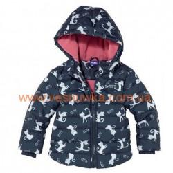 Демисезонная Куртка  для девочки «Kitty» Germany, , 10510514, Lupilu (Германия), Верхняя одежда, зимние комбинезоны