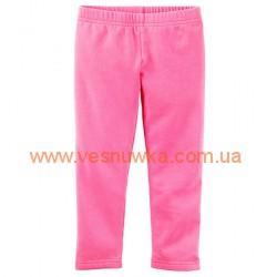 Теплые Лосины Carters розовые, , *, CARTERS, Штанишки и шорты