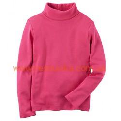 Водолазка Carters ярко-розового цвета, , 1071072, CARTERS, Регланы, туники