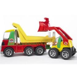 Самосвал и автопогрузчик из серии «Roadmax» Bruder (Germany), , 1081088, Bruder (Germany), Игрушки