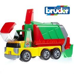Машина для сбора мусора (мусоровоз)  Roadmax Bruder (Germany), , 1081087, Bruder (Germany), Игрушки