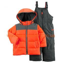 """Зимний комбинезон  Carters  """"Яркий малыш"""" оранжевый, , 11111104, CARTERS, Верхняя одежда, зимние комбинезоны"""