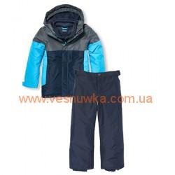 """Зимний комбинезон  3в1 Children's Place """"Спортивный стиль"""" сине-голубой, , 11111101, Children Place, Верхняя одежда, зимние комбинезоны"""