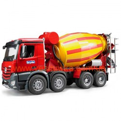Бетоновоз Mercedes Benz Arocs Bruder (Germany), , 11111103, Bruder (Germany), Игрушки