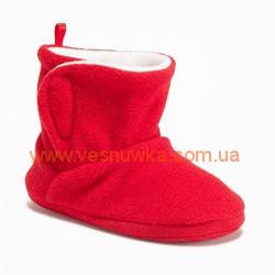 Тапочки  Old Navy красные, , 11511555, Old Navy, Нижнее белье, носочки, колготы