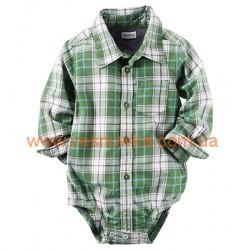 """Бодик-рубашка  Carters  """"Красавец"""" , , 11411492, CARTERS, Бодики"""