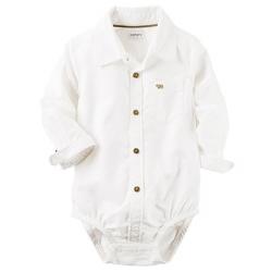 "Бодик-рубашка  Carters  ""Пингвиненок"" , , 11411493, CARTERS, Бодики"