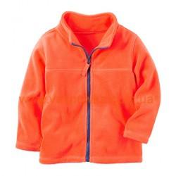 Кофта флисовая оранжевая  Carters , , 11711738, CARTERS, Кофты и флиски