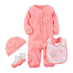 """Подарочный набор 4в1 Carters """"Любимая малышка"""", , 11811804, CARTERS, Подарочные наборы"""