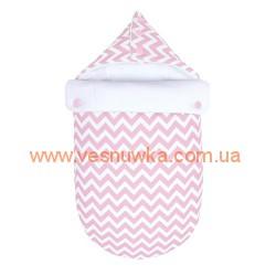 Зимний конверт для новорожденных Pink GOFORKID, , 120120008, Goforkid (Ukraine), Верхняя одежда, зимние комбинезоны