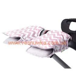 """Муфта на коляску для рук GOFORKID """"Pink"""", , 120120002, Goforkid (Ukraine), Верхняя одежда, зимние комбинезоны"""