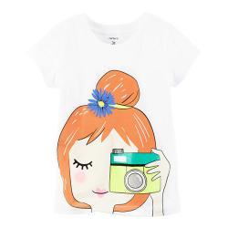 """Футболка Carters """"Счастливый день"""", , 1300057, CARTERS, Рубашки и футболки"""