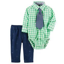 """Нарядный Набор 3в1 Carters """"Модник"""" с галстуком, , 1300010, CARTERS, Новогодние наряды"""