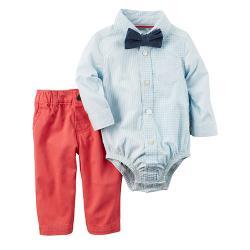 """Нарядный Набор 3в1 Carters """"Яркий мальчишка"""", , 1300011, CARTERS, Новогодние наряды"""