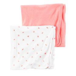 """Пеленки  Carters 2в1 """"Розовый сад"""", , 1310005, CARTERS, Пеленки и полотенца"""