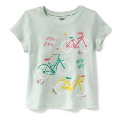 "Футболка ""Спортивная девочка"" OldNavy , , 1320023, Old Navy, Рубашки и футболки"