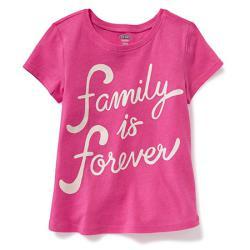 """Футболка """"Счастливая семья"""" OldNavy , , 1320029, Old Navy, Рубашки и футболки"""
