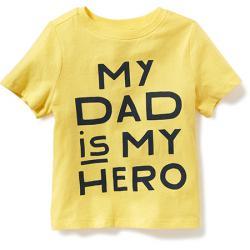 """Футболка """"Мой папа самый лучший"""" OldNavy, , 133005, Old Navy, Рубашки и футболки"""