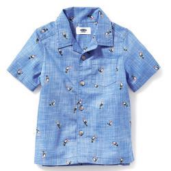 "Котоновая рубашка ""Пеликан"" OldNavy, , 133007, Old Navy, Рубашки и футболки"