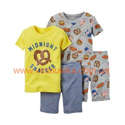"Пижама 4в1 Carters ""Snacker"", , 828209, CARTERS, Пижамы"