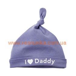 """Шапочка Carters """"I love Daddy"""", , 828227, CARTERS, Шапочки, варежки, царапки"""