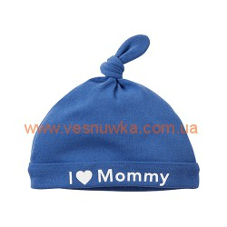 """Шапочка Carters """"I Love Mommy"""", , 828235, CARTERS, Шапочки, варежки, царапки"""