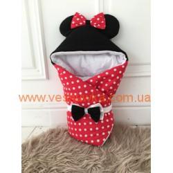 """Конверт-одеяло """"Minnie Mouse"""", , 919103, MagBaby (Украина), Верхняя одежда, зимние комбинезоны"""