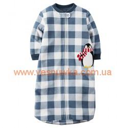 Спальник «Веселый пингвинчик» Carters, , 939333, CARTERS, Пижамы
