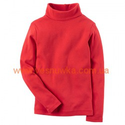 Водолазка Carters ярко-красного цвета, , 969609, CARTERS, Регланы