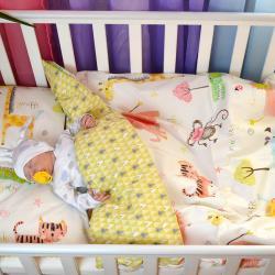"""Комплект постельного белья """"Мой первый зоопарк"""" Plamka, , 124001_005, Plamka (Poland), Пеленки и полотенца"""
