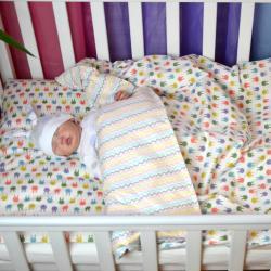 """Комплект постельного белья """"Зайки"""" Plamka, , 124001_002, Plamka (Poland), Пеленки и полотенца"""