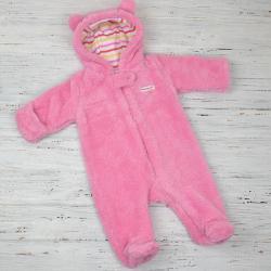 Человечек плюшевый «Мишутка» розовый Plamka, , 1240020_2, Plamka (Poland), Верхняя одежда, зимние комбинезоны