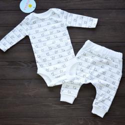 "Набор 2в1 ""White collection"" Poland Plamka, , 12401001_3842, Plamka (Poland), Наборы для малышей"