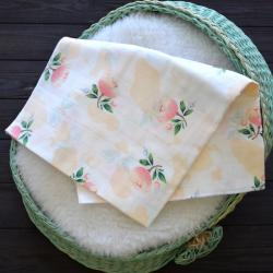 """Пеленка муслиновая (бамбук) Plamka """"Цветы"""", , 1240000332-9, Plamka (Poland), Пеленки фланелевые и муслиновые"""