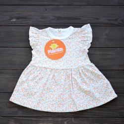 """Платье для малышки """"Цветочное настроение"""" Plamka (Poland)"""