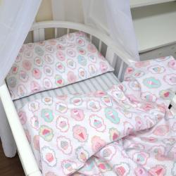 """Комплект постельного белья """"Кексики"""" Plamka, , 124001_00322, Plamka (Poland), Пеленки и полотенца"""