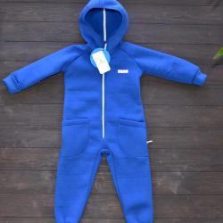 "Комбинезон на флисе с капюшоном  ""Jumpsuits""синий Plamka (Poland)"