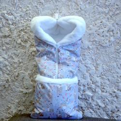 """Зимний Конверт-трансформер """"Бемби"""" на сильные морозы Plamka (Poland)"""