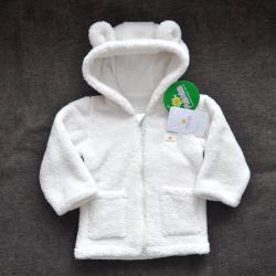 Курточка  плюшевая «Мишутка» молоко Plamka, , 1240020_2, Plamka (Poland), Одежда
