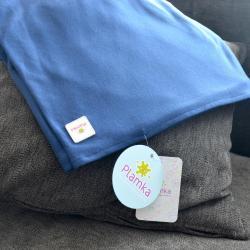 "Трикотажный слинг - шарф  Plamka 2в1 ""Синий"", , 00000229, Plamka (Poland), Накидки для кормления/Милкснуд"