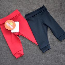 """Набор с 2 пар штанишек с мягкой резинкой """"Черные и красные"""" Plamka, , 00000131, Plamka (Poland), Штанишки и ползунки"""
