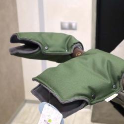 """Муфта NEW на коляску для рук """"Snow"""" хаки Plamka , , 00000652, Plamka (Poland), Аксессуары"""