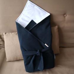 """Конверт-одеяло на выписку """"You and me"""" синее Plamka (Poland), , 00000734, Plamka (Poland), Конверты и пледы"""