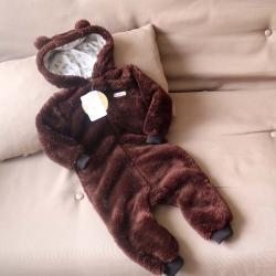 Человечек плюшевый «Мишутка» шоколад 12,18,24 м Plamka, , 00000251, Plamka (Poland), Человечки для прогулок