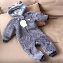 Человечек плюшевый «Мишутка» темно-серый  18,24 м Plamka, , 00000513, Plamka (Poland), Человечки для прогулок