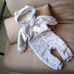 Человечек плюшевый «Мишутка» светло серый 18,24 м Plamka, , 00000249, Plamka (Poland), Человечки для прогулок